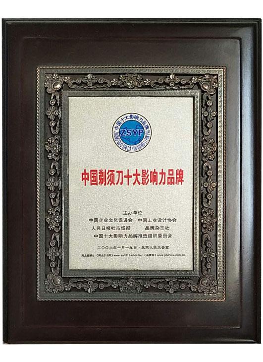 中国万博manbetx客户端2.0十大影响力品牌